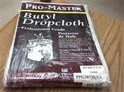 """PROMASTER """"One of a kind"""" CANVAS DROP CLOTH 9' X 12'"""